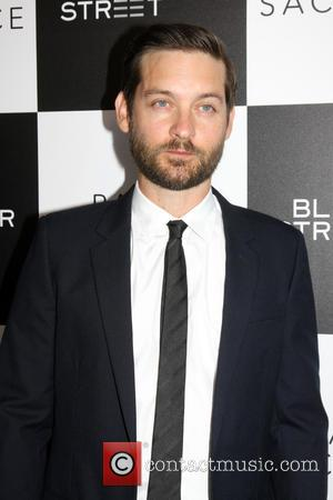 Tobey Maguire - Premiere of 'Pawn Sacrifice' at Harmony Gold Theatre - Arrivals at Harmony Gold Theater - Los Angeles,...