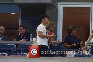 Joe Jonas , Gigi Hadid - Celebrities and Tennis Pros at Day 9 of the 2015 Tennis U.S. Open at...