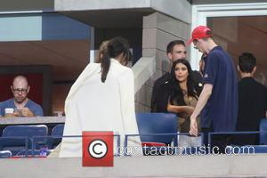 Kim Kardashian, Kendall Jenner, Gigi Hadid , Joe Jonas - Celebrities and Tennis Pros at Day 9 of the 2015...