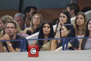 Kim Kardashian - Celebrities and Tennis Pros at Day 9 of the 2015 Tennis U.S. Open at Billy Jean King...