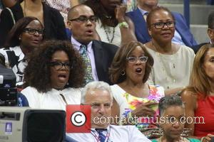 Oprah Winfrey , Gayle King - Celebrities and Tennis Pros at Day 9 of the 2015 Tennis U.S. Open at...
