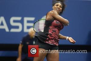 Serena Williams - Celebrities and Tennis Pros at Day 9 of the 2015 Tennis U.S. Open at Billy Jean King...
