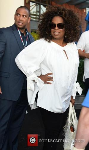 Oprah Winfrey - US Open Tennis - Day 8 - Celebrity Sightings - New York City, United States - Tuesday...