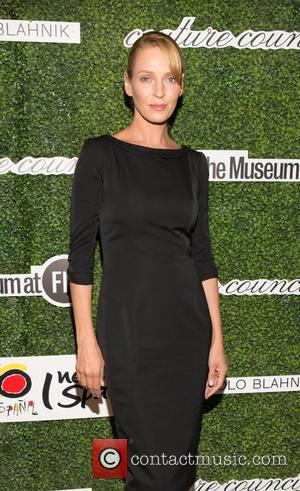 Uma Thurman - honoring Manolo Blahnik. The Award Luncheon benefits The Museum at FIT - Arrivals at Lincoln Center -...