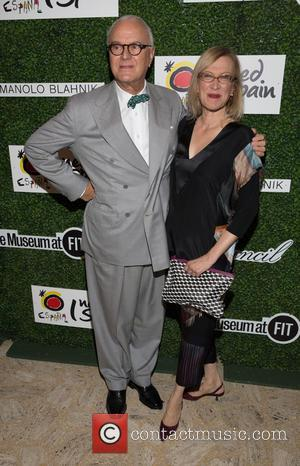 Manolo Blahnik and Guest