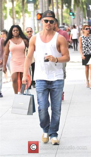Derek Hough - Derek Hough goes shopping on Rodeo Drive in Beverly Hills - Los Angeles, California, United States -...