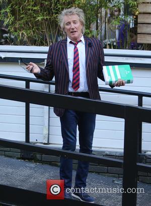 Rod Stewart - Rod Stewart outside ITV Studios - London, United Kingdom - Wednesday 9th September 2015