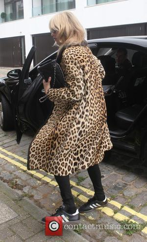 Kate Moss - Kate Moss arriving at studio at kilburn - London, United Kingdom - Wednesday 9th September 2015