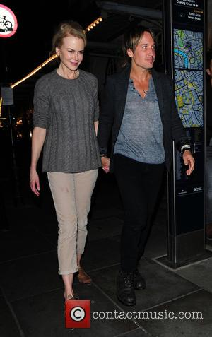 Nicole Kidman , Kieth Urban - Nicole Kidman and Kieth Urban are spotted leaving Photograph 51 her London theatre show...