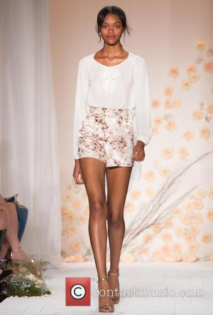 New York Fashion Week Spring 2016 - LC Lauren Conrad fashion show at Skylight Modern - Runway at New York...