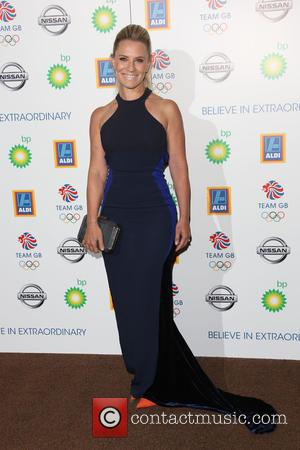 Georgie Thompson - Team GB Olympic Ball 2015 held at the Royal Opera House - Arrivals - London, United Kingdom...
