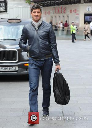 Vernon Kay - Vernon Kay seen leaving Global Radio in London - London, United Kingdom - Wednesday 9th September 2015
