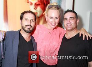 Alberto Parada, Meghan Zuzaro , Zeek Zuzaro - The VIP preview event for the new book 'Mick Rock: Shooting for...