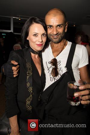 Lynda Roberta Caocci , Zoos - The VIP preview event for the new book 'Mick Rock: Shooting for Stardust, The...