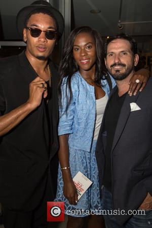 Picasso Milano, Canyesha Naomi , Alberto Parada - The VIP preview event for the new book 'Mick Rock: Shooting for...