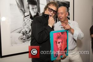Mick Rock , Benedikt Taschen - The VIP preview event for the new book 'Mick Rock: Shooting for Stardust, The...