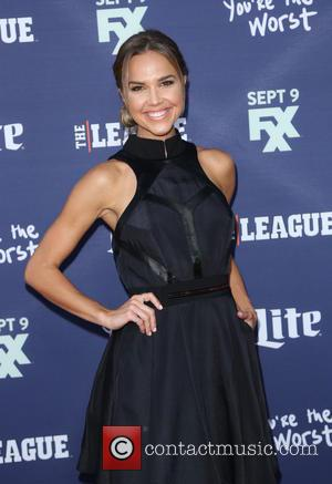 Arielle Kebbel - Premiere of 'The League' and 'You're The Worst' at Regency Bruin Theater - Arrivals - Los Angeles,...