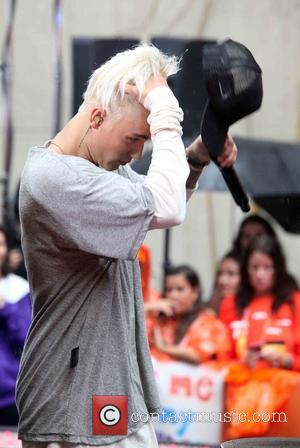 Justin Bieber - Justin Bieber performing live on NBC's Today show part of the NBC Toyota Summer Concert Series -...