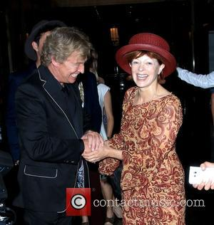 Nigel Lythgoe and Frances Fisher