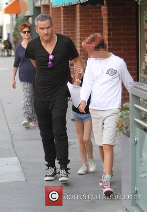 Balthazar Getty - Balthazar Getty out and about in Beverly Hills with family - Los Angeles, California, United States -...
