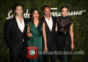 Ethan Peck, Freida Pinto, Massimiliano Giornetti and Camilla Belle