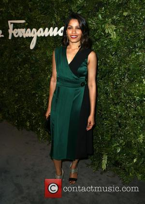 Freida Pinto - Salvatore Ferragamo 100th Year Celebration In Hollywood Rodeo Drive Flagship Store Opening at Salvatore Ferragamo Store -...