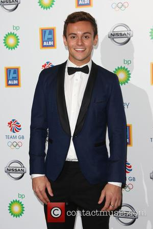 Tom Daley - Team GB Olympic Ball 2015 held at the Royal Opera House - Arrivals - London, United Kingdom...