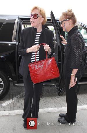Carol Burnett - Comedienne Carol Burnett arrives at Los Angeles International Airport (LAX) to catch a flight - Los Angeles,...