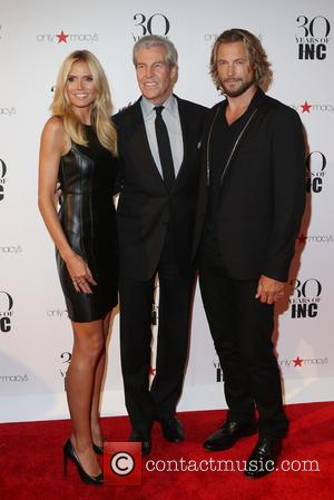 Heidi Klum, Terry Lundgren , Gabriel Aubry - Heidi Klum + Gabriel Aubry's celebration of the launch of INC's 30th...