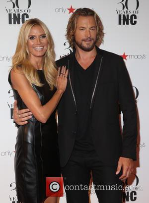 Heidi Klum and Gabriel Aubry