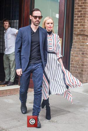Kate Bosworth , Michael Polish - Kate Bosworth and her husband Michael Polish heading to Fashion Week in New York...