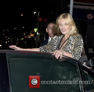 Kate Moss - Kate Moss seen leaving Paradise Pub after celebrating a friends engagement party at Kensal Green - London,...