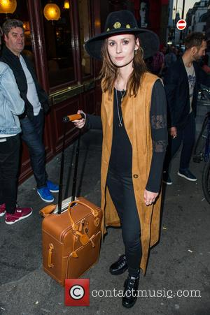 Charlotte de Carle - VIP guests arrive for the launch of the book 'Lucky', by Professor Green - London, United...