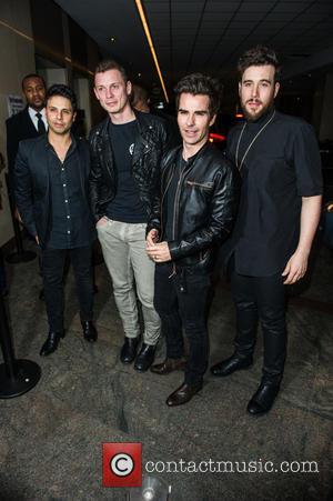 Richard Jones, Adam Zindani, Kelly Jones , Javier Weyler - Launch of Stereophonics' new album 'Keep The Village Alive' at...