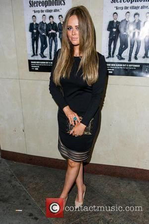 Emily Atack - Launch of Stereophonics' new album 'Keep The Village Alive' at Drama Club - London, United Kingdom -...