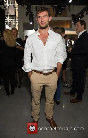 Alex Pettyfer - New York Fashion Week Spring 2016 - Gant Presentation at Spring Studios at Spring Studios 50 Varick...