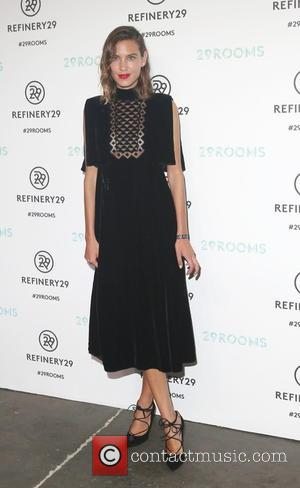 ALEXA CHUNG - Opening night of Refinery29 presentation of 29Rooms, a celebration of style and culture - Brooklyn, New York,...