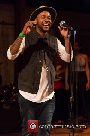 Columbus Short - Onstage presents Up Next 2015 Indie Music Tour with Columbus Short held at Art Share L.A at...