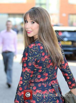 Alex Jones - Alex Jones outside ITV Studios - London, United Kingdom - Thursday 10th September 2015