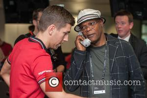 Samuel L Jackson - BGC Annual Global Charity Day held at Canary Wharf. - London, United Kingdom - Friday 11th...