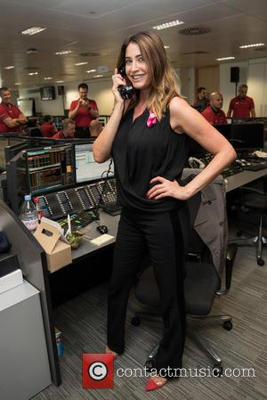 Lisa Snowdon - BGC Annual Global Charity Day held at Canary Wharf. - London, United Kingdom - Friday 11th September...