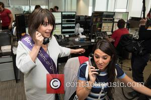 Charlotte Riley - BGC Annual Global Charity Day held at Canary Wharf. - London, United Kingdom - Friday 11th September...