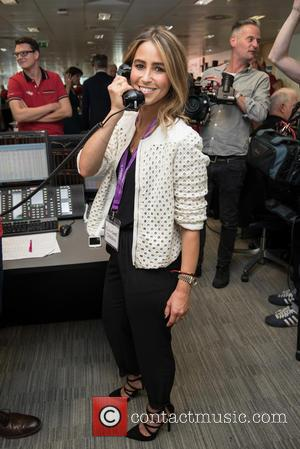 Rachel Stevens - BGC Annual Global Charity Day held at Canary Wharf. - London, United Kingdom - Friday 11th September...