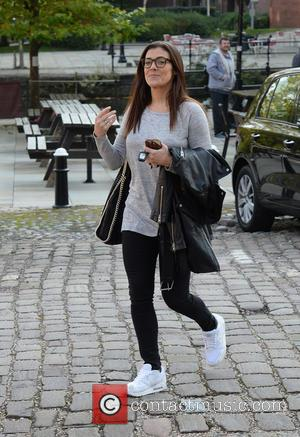 Kym Marsh - Kym Marsh leaves Key 103 radio station after co presenting the breakfast show, Manchester - Manchester, United...
