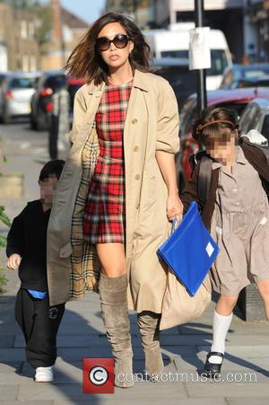 Myleene Klass, Hero Harper Quinn , Ava Bailey Quinn - Myleene Klass out and about with her daughters Hero and...