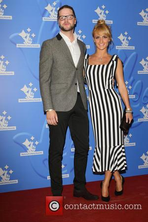 Jay McGuiness , Aliona Vilani - National Lottery Stars 2015 held at The London Studios - Arrivals at ITV Studios...