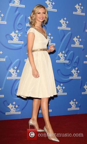 Rachel Riley - National Lottery Stars 2015 held at The London Studios - Arrivals at ITV Studios - London, United...