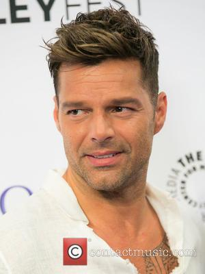Ricky Martin - PaleyFest Fall TV preview for La Banda held at The Paley Center for Media in Beverly Hills...