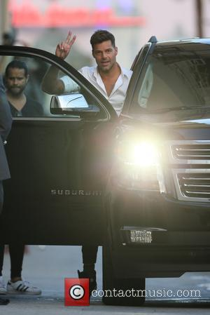 Ricky Martin - Ricky Martin leaves ABC studios with his two sons after filming 'Jimmy Kimmel Live!' - Los Angeles,...