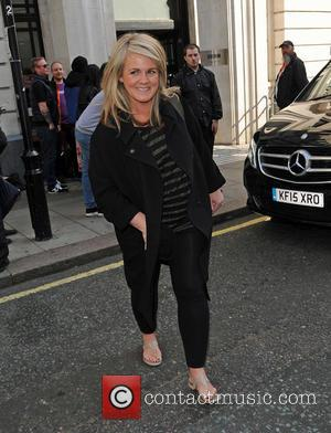 Sally Lindsay - Sally Lindsay at BBC Radio 2 - London, United Kingdom - Friday 11th September 2015